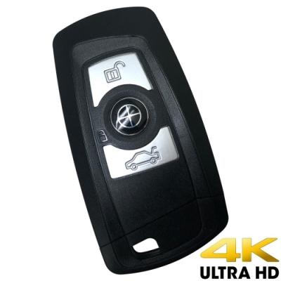 【CHICHIAU】高清正4K UHD 汽車遙控器造型微型針孔攝影機