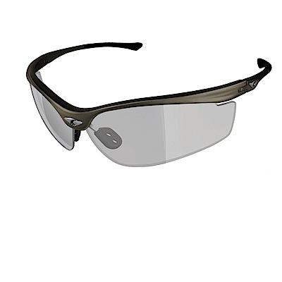 【ADHOC】運動太陽眼鏡-極速變色灰片-半框式 SPEEDOR