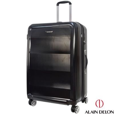 ALAIN DELON 亞蘭德倫  29吋極致碳纖維紋系列旅行箱  黑