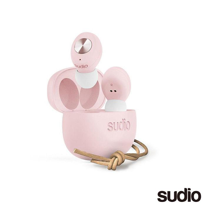 SUDIO TOLV 真無線藍牙耳機-櫻花粉