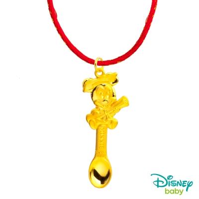 Disney迪士尼系列金飾 黃金湯匙 榜首美妮款
