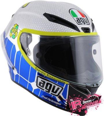 ♚賽車手的試衣間♚ VR46 Rossi AGV Corsa Mirror Mugello 2015 預購 限量 安全帽