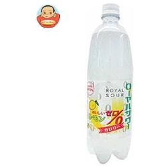 【送料無料】木村飲料 ローヤルサワー おいしいゼロ レモン 1000mlペットボトル×12本入