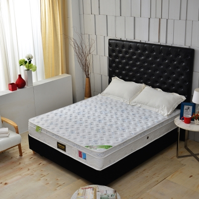 MG珍寶 天嵐三線 涼感天絲抗菌 側邊強化獨立筒床墊 單人3.5尺 護腰床