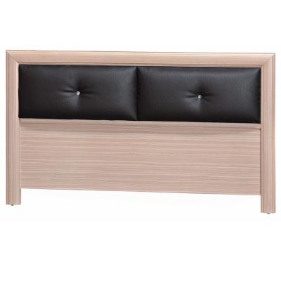 品家居 希特5尺皮革雙人床頭片(六色可選)-152x3x89cm免組