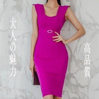 [55555SHOP] 大人の魅力 上品 女性らしい ヴィンテージ ファッション エレガント ウエスト細身 ワンピース 高品質!100%好評 スリム タイトスカート