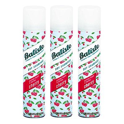 Batiste 秀髮乾洗噴劑 香甜櫻桃200mlx3入