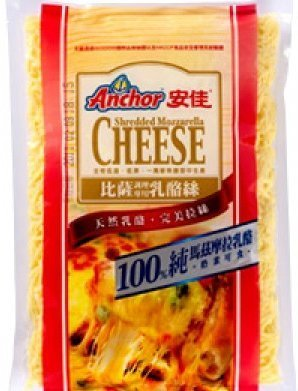 【烘焙百貨】安佳比薩調理單色乳酪絲/披薩絲 1kg*10