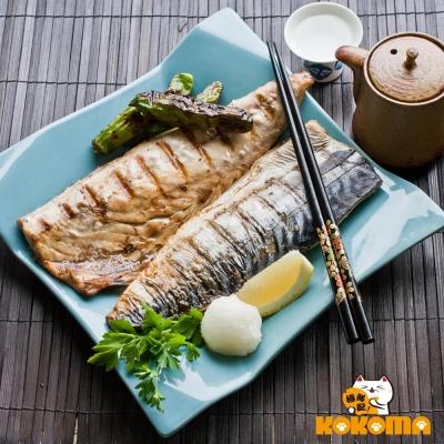 極鮮配 挪威薄鹽鯖魚(170g~220g/片)-12片入