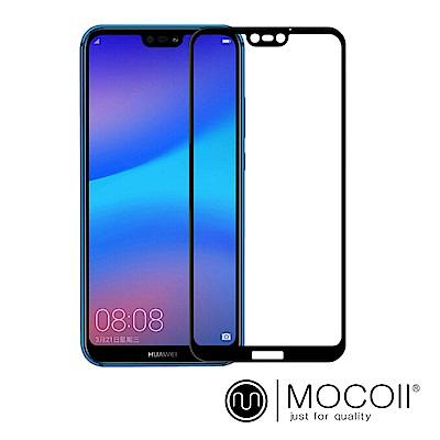 Mocoll - 2.5D 滿版 , 9H 鋼化玻璃膜 - 華為 Nova 3e 專用
