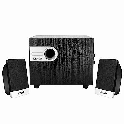 KINYO 2.1聲道3D精緻木質音箱喇叭  KY-1701
