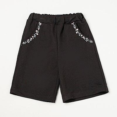 PIPPY 7分寬版褲 黑色