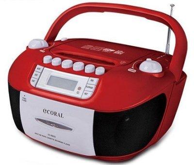 【用心的店】CORAL  手提錄音帶/CD音響CD8800 手提音響 卡帶 AM/FM收錄音機 USB