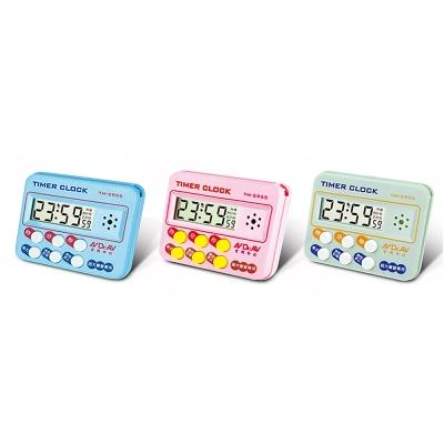 24小時 炫彩數位計時器 TM-5955   (2入/組)  顏色隨機
