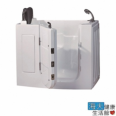 海夫健康生活館 開門式浴缸 108S-T 恆溫水柱按摩款 (110*63*92cm)