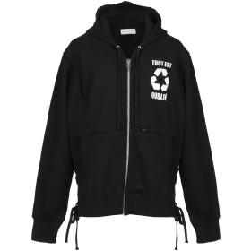 《期間限定セール開催中!》FAITH CONNEXION メンズ スウェットシャツ ブラック XS コットン 100%