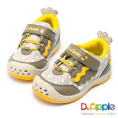 Dr. Apple 機能童鞋 寶寶可愛小雞俏皮童鞋-咖