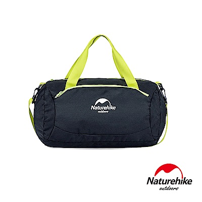 Naturehike 20L繽紛亮彩乾濕分離運動休閒包 肩背包 提包 黑色-急