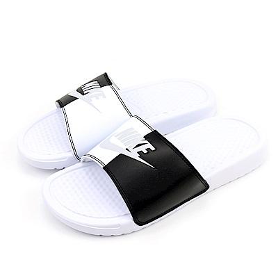 型號:343881104品名:WMNS BENASSI JDI採用紋理鞋床及輕盈泡綿中底/外底設計提供舒緩且柔軟的著感。特點:運動拖鞋 舒適 透氣氣