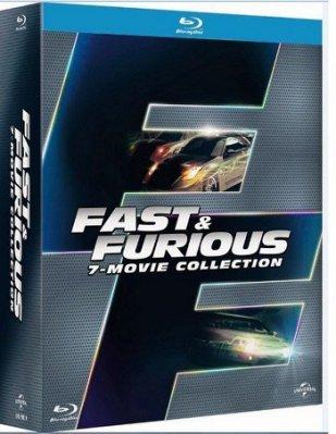 合友唱片 玩命關頭1-7合輯 藍光 BD 全新正版 Fast & Furious 1-7 面交 自取