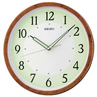 SEIKO 精工 夜光 恒動式秒針靜音掛鐘-31cm