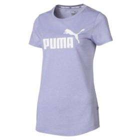 【セール】 プーマ レディーススポーツウェア Tシャツ ESS+ NO.1 ロゴ ヘザー SS Tシャ 85386923 レディース スイートラベンダーヘザー