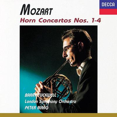 莫札特:法國號協奏曲第1~4號