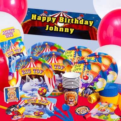 派對盒 PartyBox 生日派對懶人包 馬戲團主題 8人豪華派對盒
