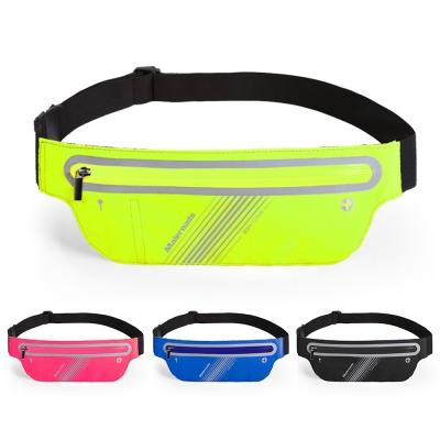 Maleroads 美型時尚輕薄動感 運動腰包 容納5.5吋手機 鑰匙 貼心耳機孔設計