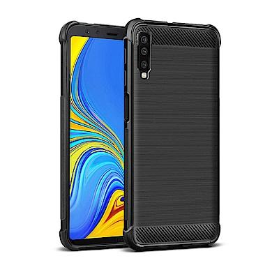 Imak SAMSUNG Galaxy A7(2018) Vega 碳纖維紋套