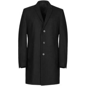 《期間限定 セール開催中》MINIMUM メンズ コート ブラック 1 ウール 50% / ポリエステル 50%