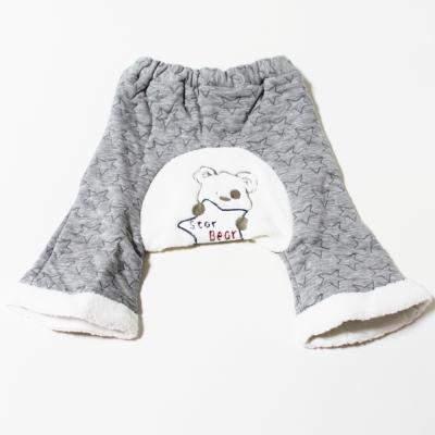 GMP BABY 台灣製深星包紗長褲1件 灰