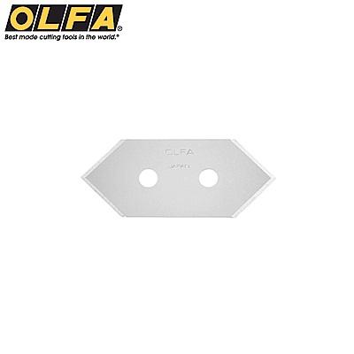 日本OLFA斜角刀刀片 邊框刀替刃MCB-1(5片/盒;高碳鋼)適MC-45 MC-45/2B MC-45/DX 197B 45B