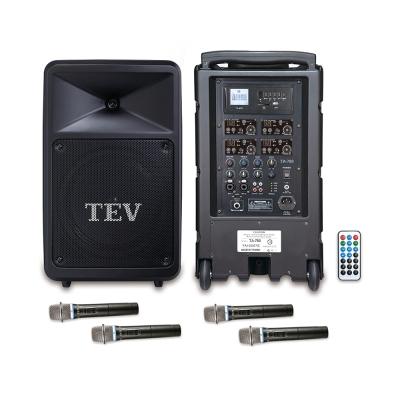 TEV USB/SD四頻無線擴音機 TA780U-4