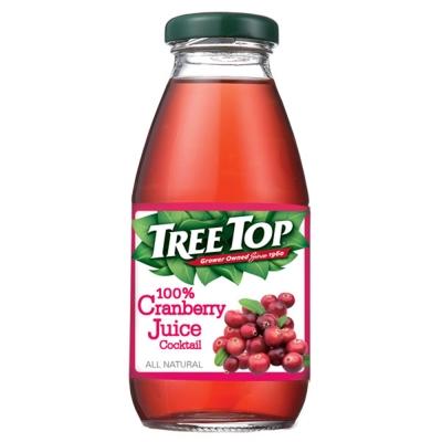 TreeTop 樹頂100%蔓越莓綜合果汁(300mlx24瓶)
