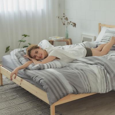BUHO 舒涼TENCEL天絲雙人加大三件式床包枕套組 私家潮居