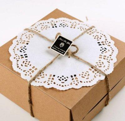 包裝小物 圓形蕾絲紙墊大号4.5寸B款直徑11cm10張8元蛋糕紙蕾絲紙 花邊紙墊拍照道具zakka 雜貨~幸福生活館