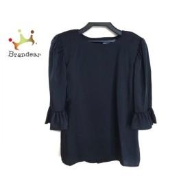 イヴサンローラン YvesSaintLaurent チュニック サイズM レディース 美品 黒 肩パッド   スペシャル特価 20190908