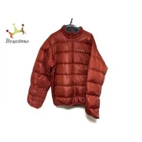 モンベル mont-bell ダウンジャケット サイズL レディース 美品 ブラウン 冬物 新着 20190618