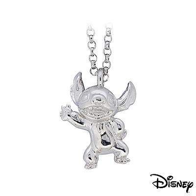 Disney迪士尼系列金飾 立體純銀墜子 焦點史迪奇款