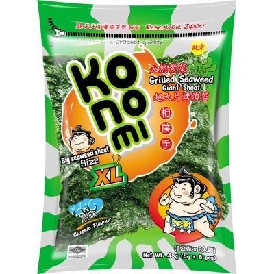 Konomi相撲手 超大片烤海苔-原味(48g)