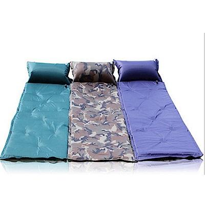 【LOTUS】自動充氣墊 防潮睡墊 露營睡墊 可拼接 送背袋