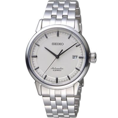 SEIKO 精工 Presage 經典機械錶(6R15-02Y0S)-39.15mm