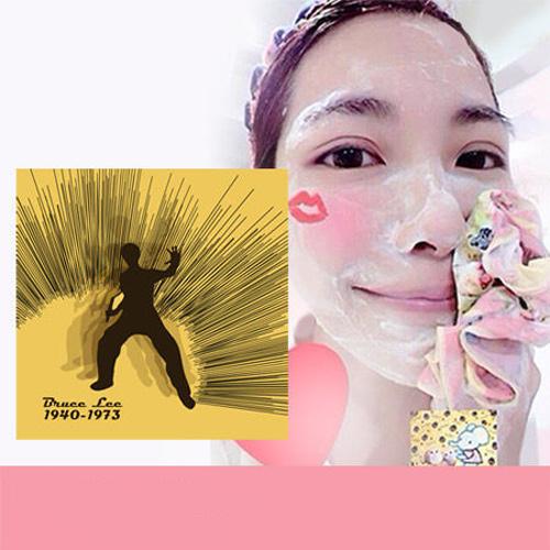 Pikka Pikka A26 李小龍發功 林鴒推薦 日本製 臉部毛孔潔淨布 洗臉布 花猴分享 現貨 熱賣中!