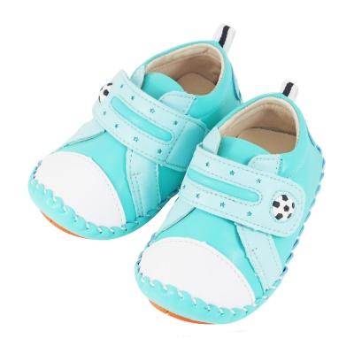 Swan天鵝童鞋-小足球翹頭學步鞋1497-綠