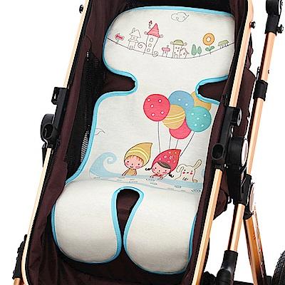 colorland 嬰兒推車冰絲涼蓆-嬰兒車涼墊坐墊(分段式/五點式)