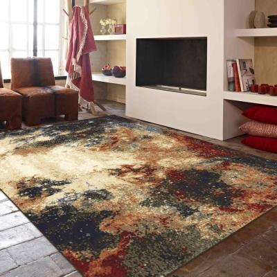 范登伯格 - 黛薇兒 進口仿羊毛地毯 - 烈焰 (133 x 190cm)