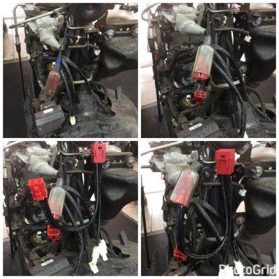 S-MAX 155 3組輸出 陶瓷保險絲 鎖頭電門正電ACC引出線組 ACC線組 線組 機車小U 改裝線路的首選 Y 。 三組輸出