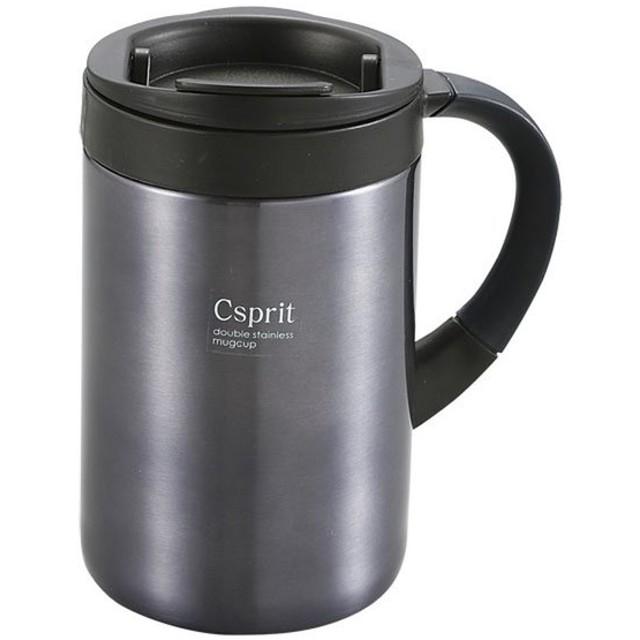 CAPTAINSTAG(キャプテンスタッグ) シーエスプリダブルステンレスマグカップ350(ブラック) ( M5383 )