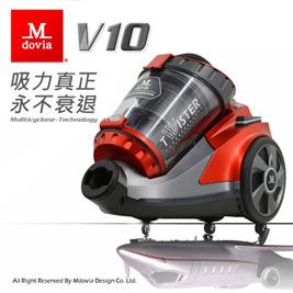 ■雙層雙錐V10型超強過濾粉塵微粒■Dual雙層三道過濾系統■高效HEPA 可過濾0.3微米塵螨■無袋式設計環保無耗材